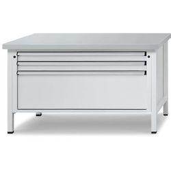 Stół warsztatowy z szufladami XL/XXL, szer. 1500 mm, 3 szuflady, blat uniwersaln