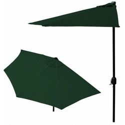 Parasol ogrodowy na taras - zielony- Goodhome (5903089064312)
