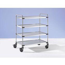 Wózek stołowy ze stali szlachetnej varithek servo+, dł. x szer. x wys. 1070x670x marki Rieber