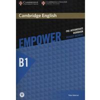 Cambridge English Empower Pre-Intermediate Workbook Without Answers with Audio