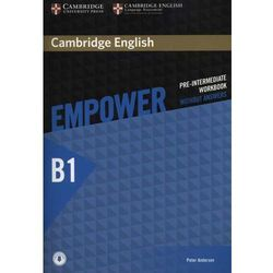 Cambridge English Empower Pre-Intermediate Workbook Without Answers with Audio, pozycja wydana w roku: 2015