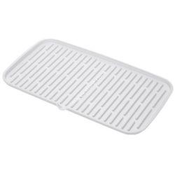 Ociekacz silikonowy do suszenia naczyń 42x24 cm - odcienie bieli - oferta [0568622875b5058c]