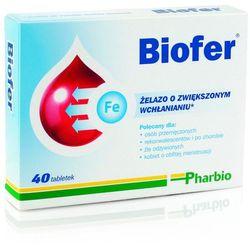 Biofer x 40 tabl. (lek Witaminyi minerały)