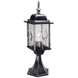 Zewnętrzna lampa stojąca wexford wx3  ogrodowa oprawa słupek ip43 outdoor srebrna wyprodukowany przez Elstead