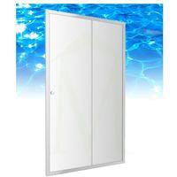 bronx - drzwi prysznicowe szklane, przesuwne 110 cm - s-2050 110 marki Omnires