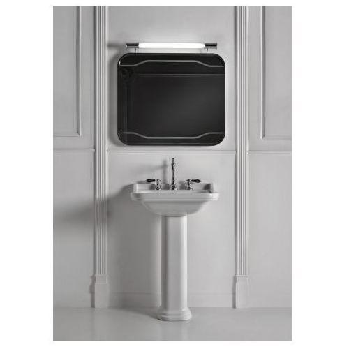 Kerasan Waldorf Umywalka biała klasyczna 60x55cm z pierścieniem odpływu w kolorze - Brąz - 4140K3 - produk
