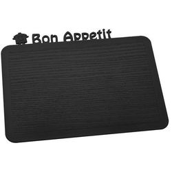Deska śniadaniowa happy boards bon appetit czarna marki Koziol