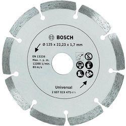 Tarcza diamentowa, segmentowa TS , 125 mm, Bosch z Conrad.pl