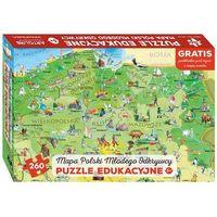 Polska Młodego Odkrywcy puzzle dla dzieci (ISBN 9788363618575)