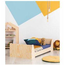 Drewniane łóżko dziecięce ze stelażem 16 rozmiarów - Filo 6X