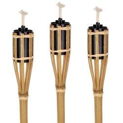 4-home Bambusowe pochodnie, 60 cm, 3 sztuki