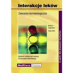 Interakcje leków. Zalecenia farmakologiczne. Seria Do kieszeni fartucha (M. Zieglmeier, T. Hein,P. Niewiński