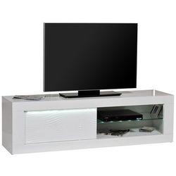 Sciae Stolik pod telewizor karma, biały, 170x50 cm - 15sd3310