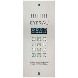 Panel cyfrowy CYFRAL PC-3000RE wąski z czytnikiem RFiD i wbudowaną elektroniką (5905669169004)