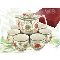 Zestaw czajnik + sześć filiżanek
