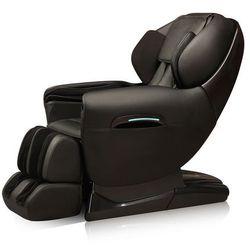 Fotel do masażu inSPORTline Dugles, Ciemny brązowy