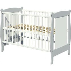łóżeczko drewniane laura 120x60cm odbierz swój rabat tylko dzisiaj! marki Piętrus
