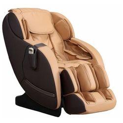 Fotel do masażu neree — system zero grawitacji — kolor karmelowy marki Vente-unique
