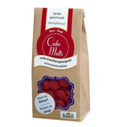 Dropsy czekoladowe CakeMelts Birkmann czerwone, 504 172
