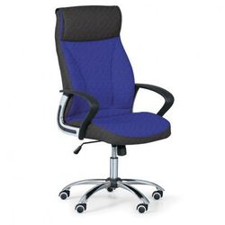 Fotel biurowy DERRY TEX, niebieski