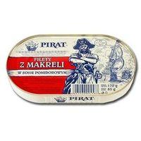 PIRAT 170g Filety z makreli w sosie pomidorowym | DARMOWA DOSTAWA OD 150 ZŁ! (przetwór rybny)
