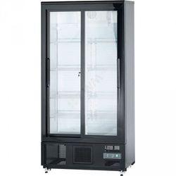 Stalgast szafa chłodniczna do butelek 500 l drzwi przesuwane, kolor szary
