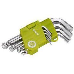 Zestaw kluczy  craft 66000, l-klucze, krótkie, 9 szt. stal marki Extol