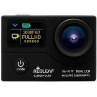 Redleaf SJ5050plus OLED WiFi UltraHD 4K czarna - produkt w magazynie - szybka wysyłka!