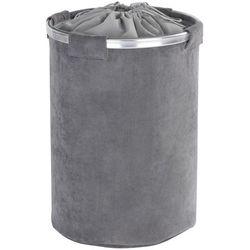 Kosz na pranie CORDOBA, kolor szary - 68 litrów, WENKO, B06WVHZ6KJ