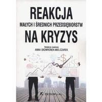 Reakcja małych i średnich przedsiębiorstw na kryzys - Anna Skowronek-Mielczarek