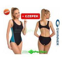 Gwinner Wenda ii strój pływacki kąpielowy klasyczny jednoczęściowy  + czepek | wysyłka 24h