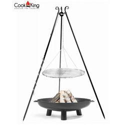 Zestaw 3w1, grill nierdzewny 50cm + palenisko bali 60 cm marki Cook&king