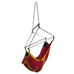 La siesta Fotel księżycowy dla dzieci, czerwono-żółty kids moonchair