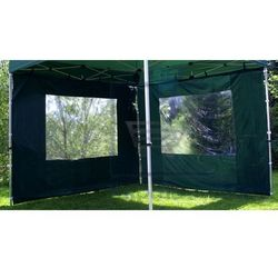 Komplet dwóch ścian do pawilonu PROFI 3 x 3 m - zielony (4025327362323)