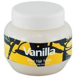 waniliowa maska do włosów vanilla shine hair mask 275ml wyprodukowany przez Kallos
