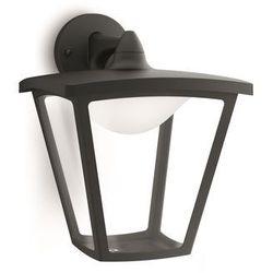 COTTAGE - Kinkiet zewnętrzny Czarny LED Wys.28,3cm - produkt z kategorii- lampy ścienne