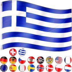 FLAGA GRECJI GRECKA 120x80 CM NA MASZT GRECJA (4048821749230)