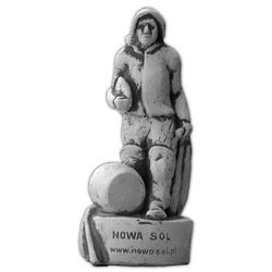 Figura ogrodowa betonowa Mężczyzna z chlebem 22cm