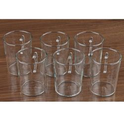 TERMISIL Komplet 6 szklanek żaroodpornych STOŻEK 220 ml