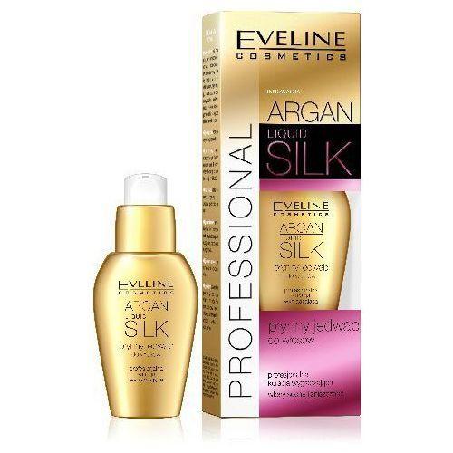 EVELINE ARGAN & KERATIN LIQUID SILK PŁYNNY JEDWAB DO WŁOSÓW 37ML z kategorii kosmetyki do włosów