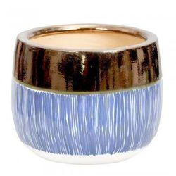 Ceramiczna osłona na donicę Ora`m L - produkt z kategorii- Doniczki i podstawki