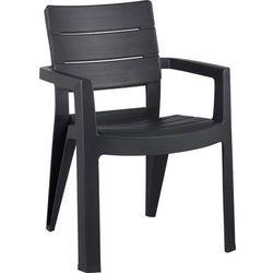 Krzesło KETER Ibiza Grafitowy - produkt z kategorii- Krzesła ogrodowe