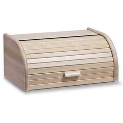 Drewniany chlebak, pojemnik na pieczywo, 40x28x18cm, ZELLER (4003368204635)