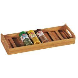 Pojemnik na przyprawy do szuflady z drewna bambusowego, organizer do przypraw, przybornik na przyprawy, pudełka do przechowywania, Kesper