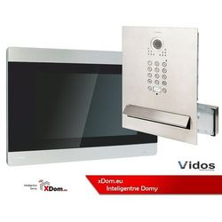 Vidos Zestaw wideodomofonu skrzynka na listy z szyfratorem s562d-skm m903sh monitor 7 cali
