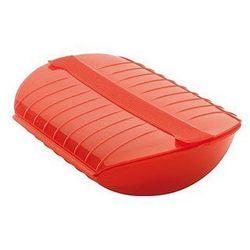 Naczynie do pieczenia z wkładką Luki 1400 ml czerwone, 3402600R10U004