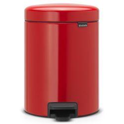 Kosz łazienkowy Brabantia newIcon 5l passion red