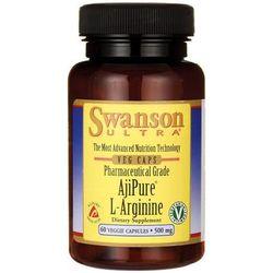 Swanson AjiPure L-Arginina 500mg 60 kaps. - produkt z kategorii- Potencja - erekcja