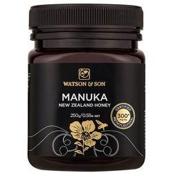 Miód manuka 300+mgo certyfikowany 250g od producenta Watson & son ltd, masterton, new zealand