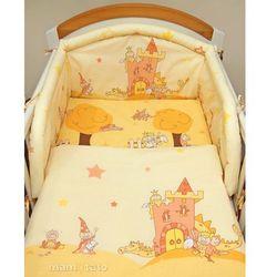 MAMO-TATO pościel 2-el Zamek kremowy do łóżeczka 60x120cm, kup u jednego z partnerów